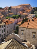 Red Terracotta Rooftops in Dubrovnik