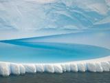 Stranded Iceberg in Shallow Bay Near Boothe Island