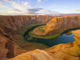 Horseshoe Bend on Colorado River Papier Photo par John Eastcott & Yva Momatiuk
