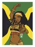 Jamaican Anime Girl