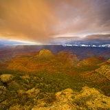 Bright Clouds Over Grand Canyon Papier Photo par John Eastcott & Yva Momatiuk