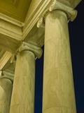 Columns at Jefferson Memorial