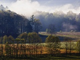 Fog Lifting from Cades Cove