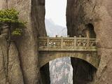 Bridge in the Huangshan Mountains