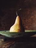 Single Pear in Bowl