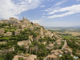 Hillside Town of Gordes in France