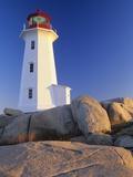 Peggy's Cove Lighthouse  Peggy's Cove  Nova Scotia  Canada