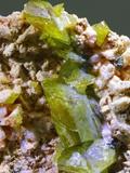 Green Titanite mineral