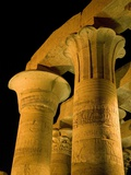 Pillars at Kom Ombo Temple