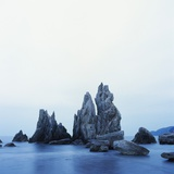 Dramatically Shaped Sea Stacks in Ocean