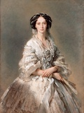 Portrait of Empress Maria Alexandrovna by Franz Xavier Winterhalter