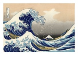 La grande vague de Kanagawa, 1830-1831 Reproduction d'art par Katsushika Hokusai