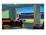 Motel western Giclée par Edward Hopper