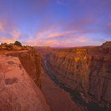 Full moon over Toroweap Point in Grand Canyon National Park Papier Photo par John Eastcott & Yva Momatiuk