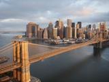 Pont de Brooklyn, New York Papier Photo par Cameron Davidson