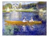 The Skiff (La Yole) Giclée par Pierre-Auguste Renoir