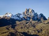 Snow on Mount Kenya