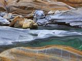 Rock along Verzasca River