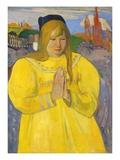 Young Christian Girl (Bretonne en Priere)