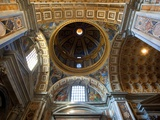 Ceiling of the Dome in St Peter's Basilica