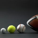 Various sport balls