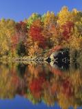 Simon Lake Reflection  Naughton  Ontario  Canada
