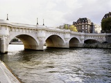 Pont Neuf, Paris, France Papier Photo