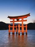 Torii Gate at the Itsukushima Jinga Shrine