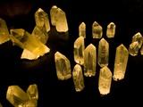 Quartz Crystals at Crystal Cave Museum in Australia