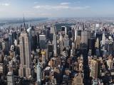 Gratte-ciels de Manhattan Papier Photo par Cameron Davidson