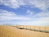 Boardwalk at Chesil Beach in Dorset