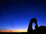 Evening Sky Over Delicate Arch