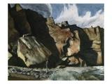 Shoshone Cliffs Giclée par Edward Hopper