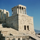 Exterior View of the Temple of Athena Nike