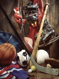 Variety of Sports Equipment