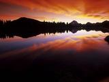 Sunset in the Teton Range