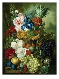 A Rich Still Life of Summer Flowers