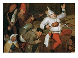 Detail of Combat Between Carnival and Lent