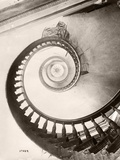 St Louis Hotel's Winding Staircase