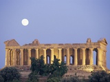 Temple of Concord Under the Moon