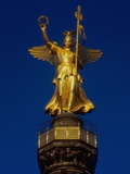 Detail of the Victory Column Statue by Friedrich Darke