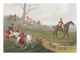 Huntsmen Remount as a Fox Breaks Cover
