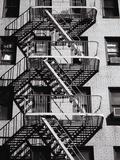 Fire Escape on Apartment Building Reproduction d'art par Henry Horenstein