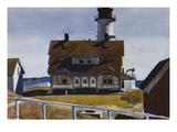 Captain Strout's House Giclée par Edward Hopper