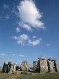 Menhirs at Stonehenge