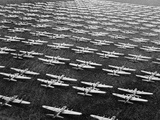 Hundreds of B-29 Flying Fortresses Await Scrap Heap