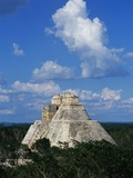 Pyramid of the Magician at Uxmal