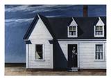 Le train sifflera trois fois Giclée par Edward Hopper