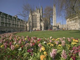 Gardens on East Side of Bath Abbey