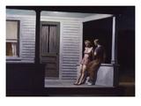 Soirée d'été Giclée par Edward Hopper